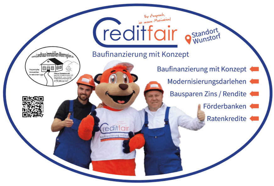 Creditfair Partner Landhaus Immobilien Meerregion